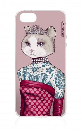 Cover Apple iPhone 5/5s/SE - Gattina principessa