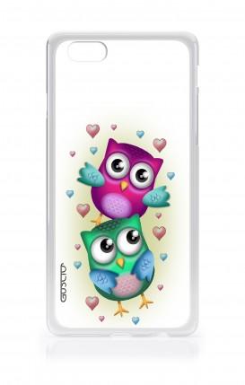 Cover Apple iPhone 6/6s - Coppia di gufi