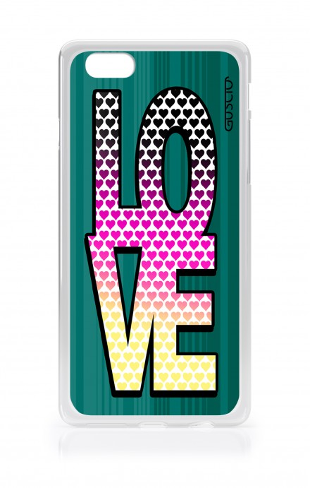 Cover Apple iPhone 6/6s - LOVE with Hearts