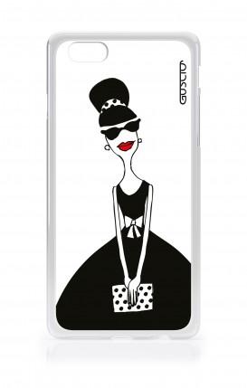 Cover Apple iPhone 6/6s - Signora con borsetta
