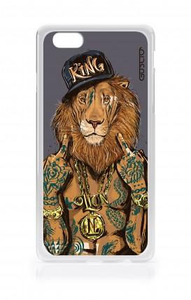 Cover Apple iPhone 6/6s - Lion King grigio