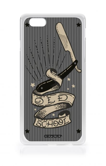 Cover TPU Apple iPhone 6/6s - Old School Razor