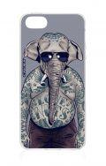 Cover Apple iPhone 5/5s/SE - Uomo elefante