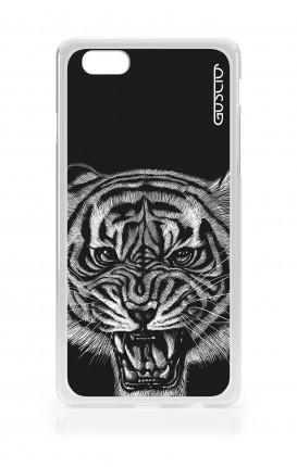 Cover TPU Apple iPhone 6/6s - Tigre nera
