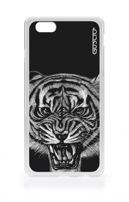 Cover TPU Apple iPhone 6/6s - Tigre nera