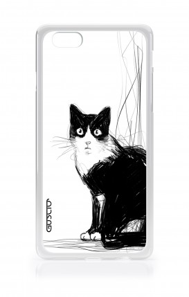 Cover Apple iPhone 6/6s - B&W CAT