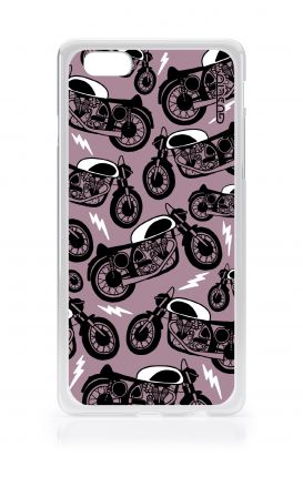 Cover Apple iPhone 6/6s - Moto pattern