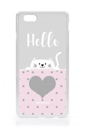 Cover Apple iPhone 6/6s - Hello Cat