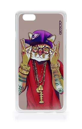 Cover Apple iPhone 6/6s - Hip Hop Cat