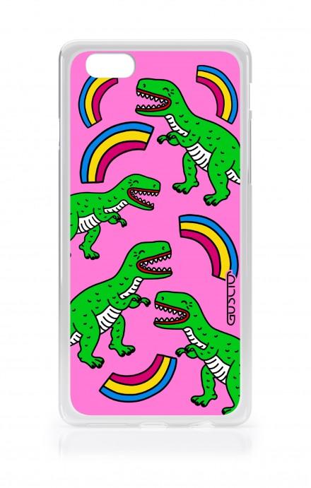 Cover TPU Apple iPhone 6/6s - T-Rex pattern