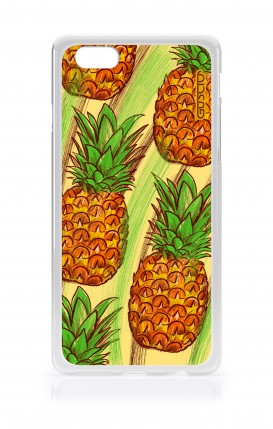 Cover Apple iPhone 6/6s - Ananas Pattern fondo giallo