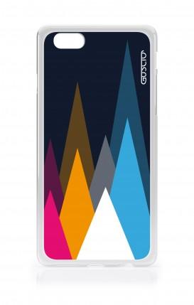Cover Apple iPhone 6/6s - Cime su fondo Blu