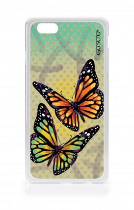 Cover Apple iPhone 6/6s - Farfalle e pois