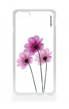 Cover Apple iPhone 6/6s - Flowers on white