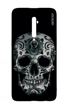 Cover TPU Oppo Reno 2Z - Dark Calavera Skull