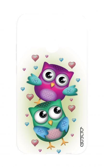 Cover Samsung Galaxy Core Plus - Rose e pois