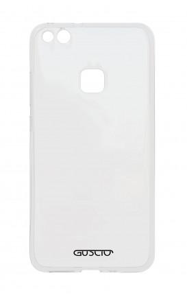 Cover Crystal TPU Huawei P9 Lite - Logo