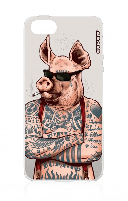 Cover Apple iPhone 5/5s/SE - Hate BBQ