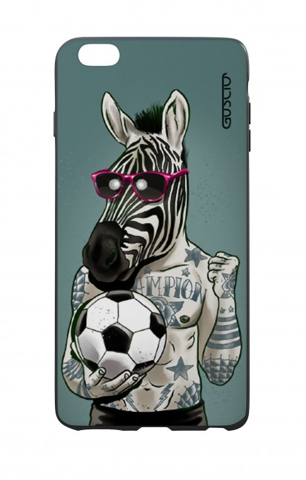 Apple iPhone 6 WHT Two-Component Cover - Zebra