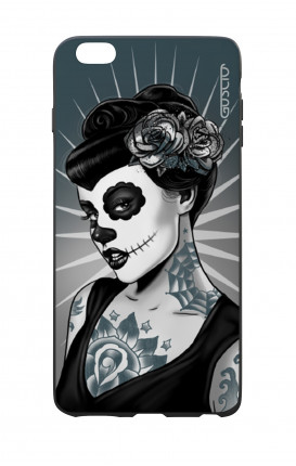 Apple iPhone 6 WHT Two-Component Cover - Calavera Grey Shades