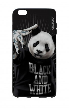 Cover Bicomponente Apple iPhone 6/6s - Panda rap