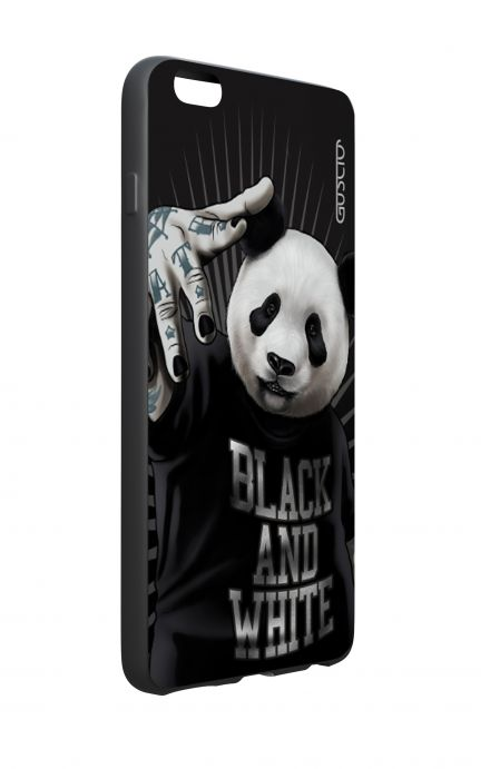 Apple iPhone 6 WHT Two-Component Cover - B&W Panda