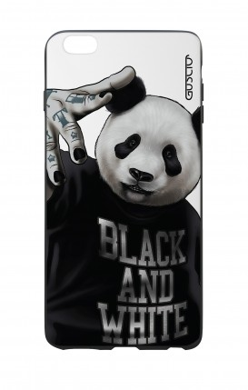 Apple iPhone 6 WHT Two-Component Cover - WHT B&W Panda
