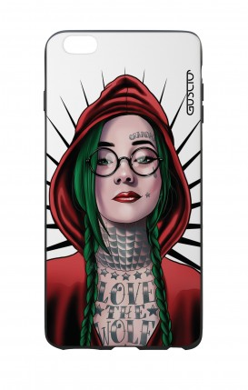 Apple iPhone 6 WHT Two-Component Cover - WHT Red Hood Girl