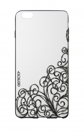 Apple iPhone 6 WHT Two-Component Cover - WHT Lace Chocolate