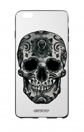 Apple iPhone 6 WHT Two-Component Cover - WHT DarkCalaveraSkull
