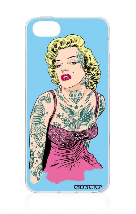 Cover Apple iPhone 5/5s/SE - Marilyn tatuata