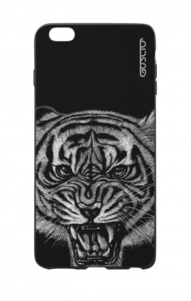 Apple iPhone 6 WHT Two-Component Cover - Black Tiger