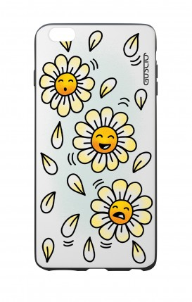 Apple iPhone 6 WHT Two-Component Cover - WHT DaisyMoji