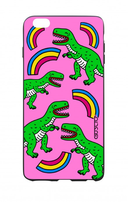Apple iPhone 6 WHT Two-Component Cover - T-Rex pattern