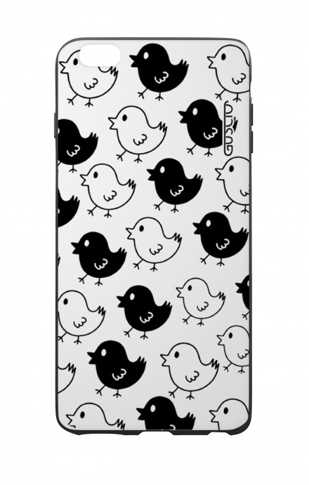 Apple iPhone 6 WHT Two-Component Cover - Black & White Chicks