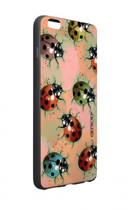 Apple iPhone 6 WHT Two-Component Cover - Lady bugs