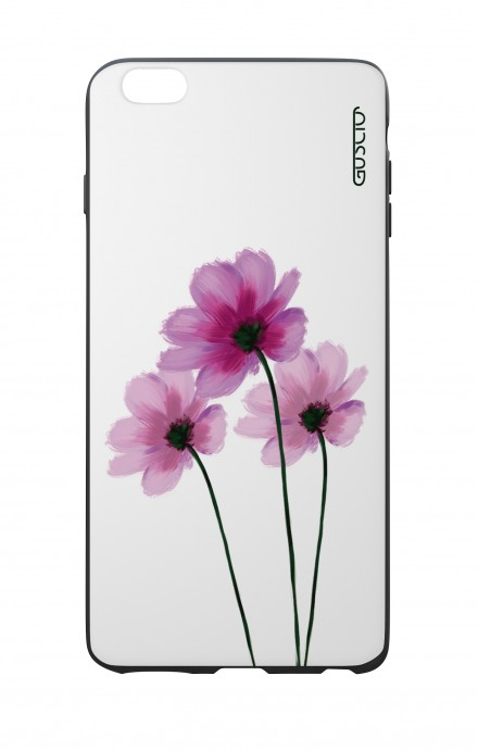 Apple iPhone 6 WHT Two-Component Cover - Flowers on white