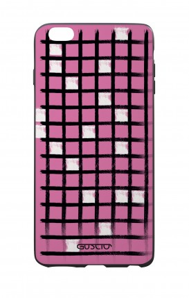 Apple iPhone 6 WHT Two-Component Cover - Pink Crossword