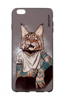 Cover Bicomponente Apple iPhone 6/6s - Lince Tattoo