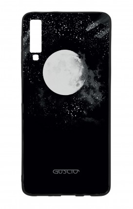 Samsung A50 WHT Two-Component Cover - Moon