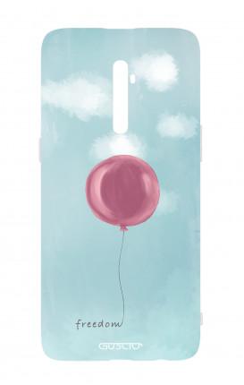Cover TPU Oppo Reno 2Z - palloncino della libertà