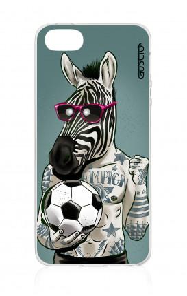 Cover TPU Apple iPhone 5/5s/SE - Zebra
