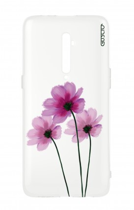 Cover Oppo Reno 2Z - Flowers on white