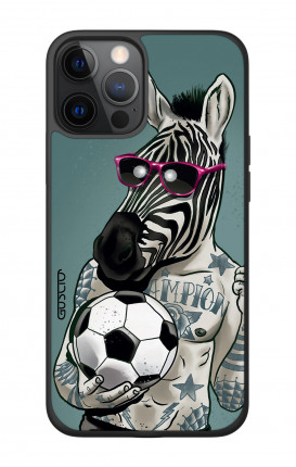 "Apple iPhone 12 6.7"" Two-Component Cover - Zebra"