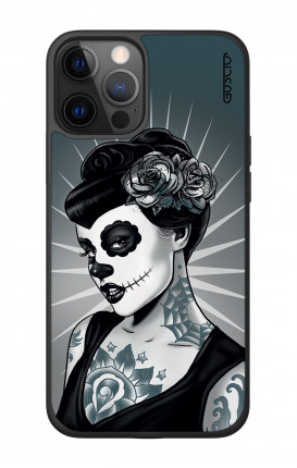 """Apple iPhone 12 6.7"""" Two-Component Cover - Calavera Grey Shades"""