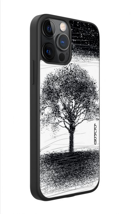 Apple iPhone 11 PRO Two-Component Cover - Moon and Tree