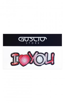 Sticker Glitter - STICKER_I Love You