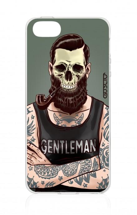 Cover Apple iPhone 5/5s/SE - Teschio gentiluomo