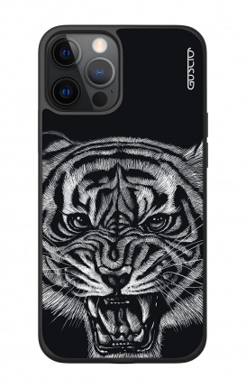 """Apple iPhone 12 6.7"""" Two-Component Cover - Black Tiger"""