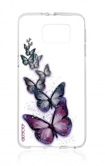 Cover TPU Samsung Galaxy S7 - Volo di farfalle